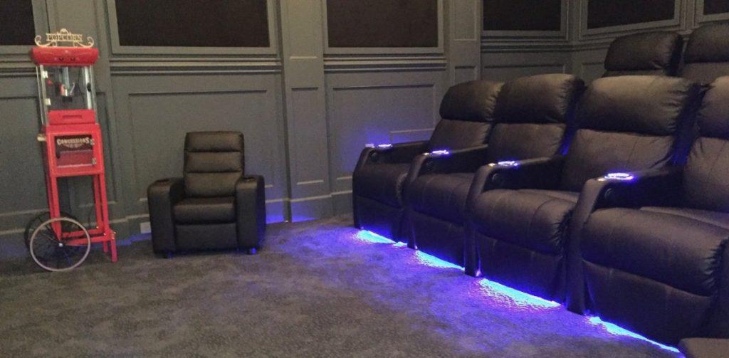 Burbank home theater