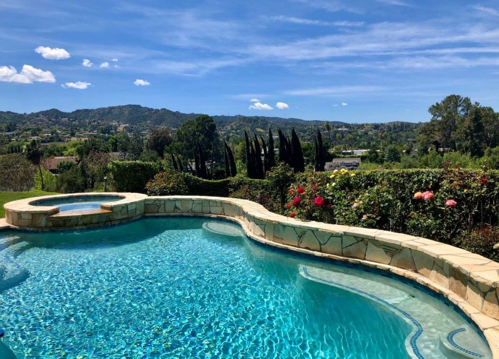 Encino Hills View with Pool