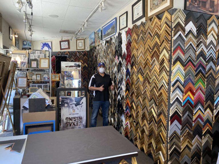 Frames Galore - Inside Store
