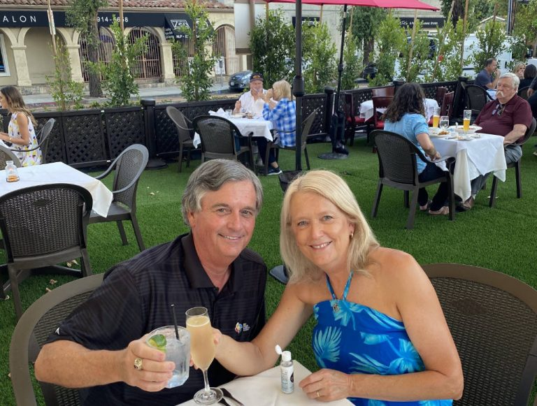 Wende and Craig at Monty's Woodland Hills