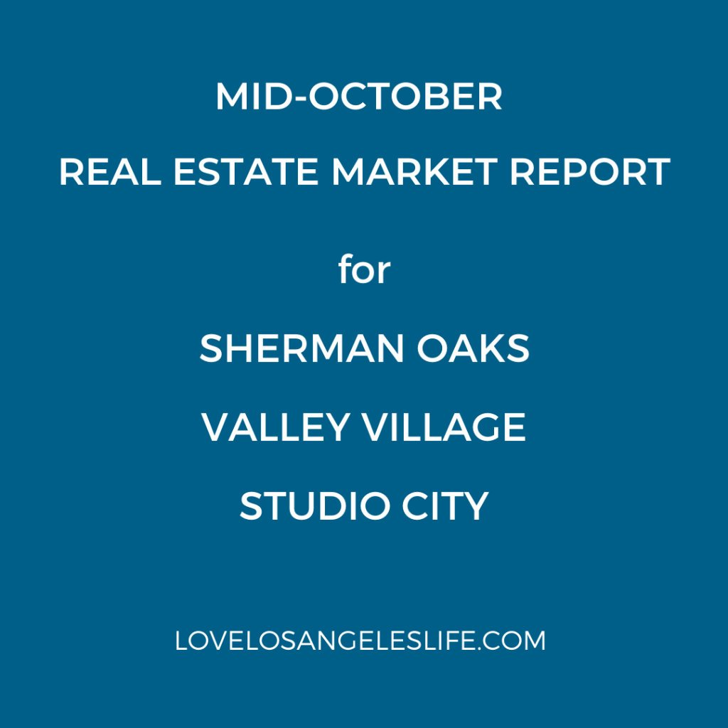 Real Estate Update Mid-Oct 2020