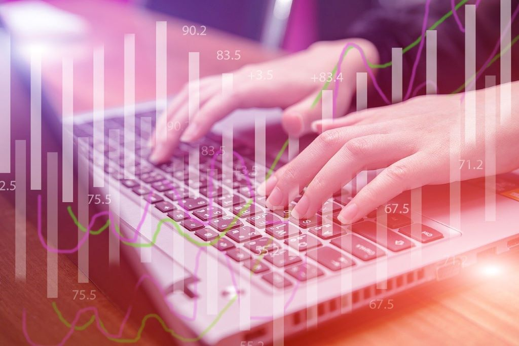 Hand on keyboard statistics Graphics