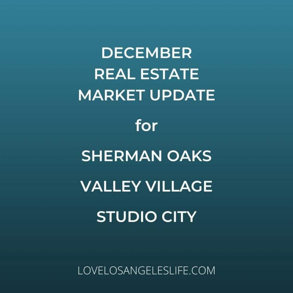 Dec 2020 Real Estate Market Update Graphic