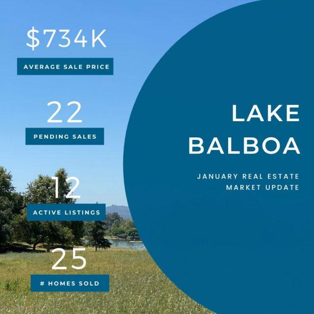 Market Update Lake Balboa 01152021